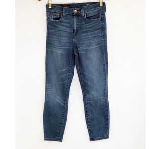 J. Crew Lookout High Rise Skinny Cropped Jeans